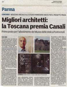 Gazzetta di Parma 08.07.2017